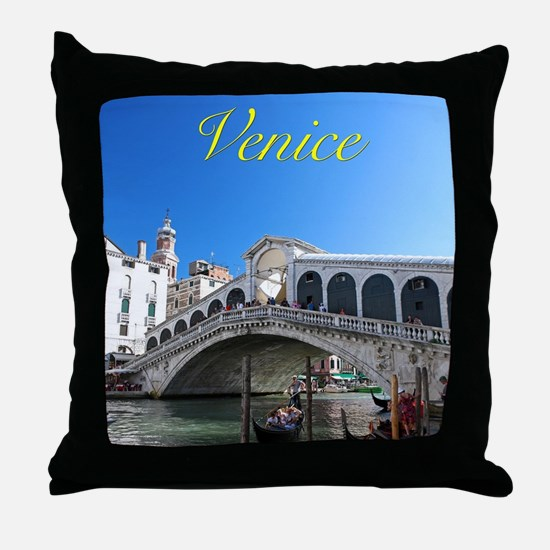 Venice Gift Store Pro Photo Throw Pillow