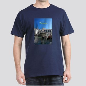 Venice Gift Store Pro Photo Dark T-Shirt