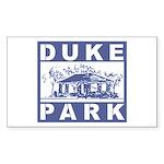 Duke Park Rectangle Sticker