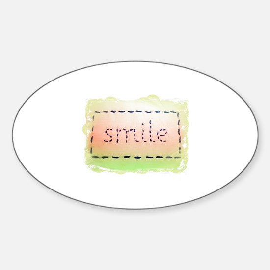Smile Logo Melon and Lime Decal