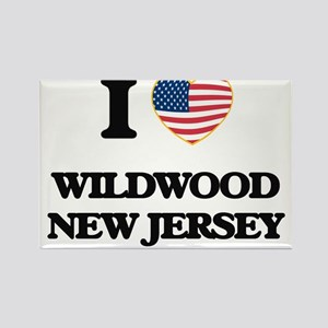I love Wildwood New Jersey Magnets