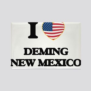 I love Deming New Mexico Magnets
