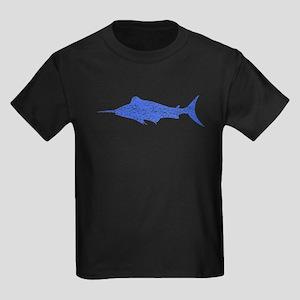 Distressed Blue Swordfish T-Shirt