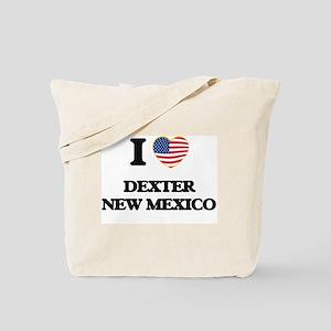 I love Dexter New Mexico Tote Bag