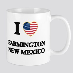 I love Farmington New Mexico Mugs