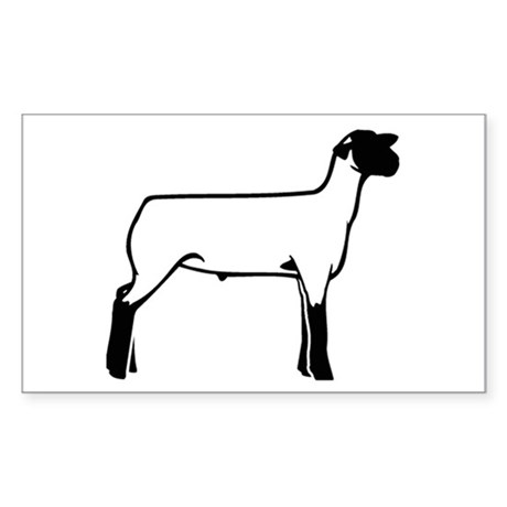 Another Lamb Rectangle Sticker