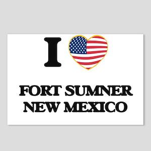 I love Fort Sumner New Me Postcards (Package of 8)