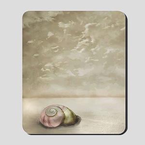 Seashell on the Beach Mousepad