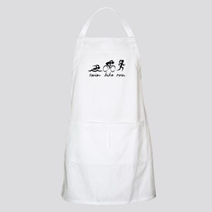 Swim Bike Run (Girl) Apron