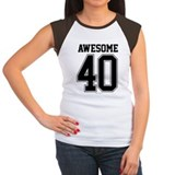 40th Women's Cap Sleeve T-Shirt