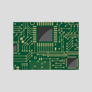 Motherboard 2 5'x7'Area Rug