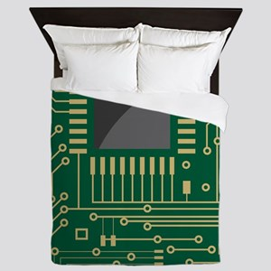 Motherboard 2 Queen Duvet