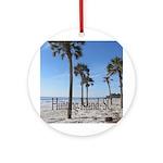 Hunting Island, SC Ornament (Round)