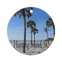 Hunting Island, SC Ornament (Round)