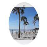 Hunting Island, SC Ornament (Oval)