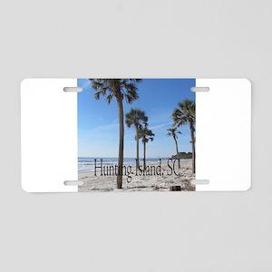 Hunting Island, SC Aluminum License Plate