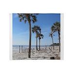 Hunting Island, SC Throw Blanket