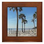 Hunting Island, SC Framed Tile