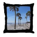 Hunting Island, SC Throw Pillow