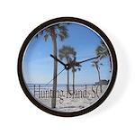 Hunting Island, SC Wall Clock