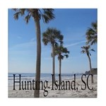 Hunting Island, SC Tile Coaster