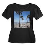 Hunting Island, SC Plus Size T-Shirt