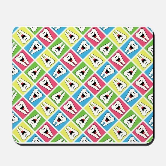 HAPPY TEETH Mousepad