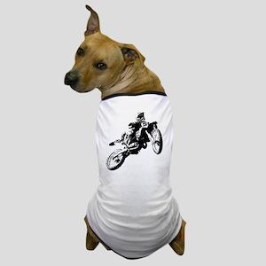 motor cross Dog T-Shirt