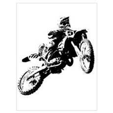 motor cross Framed Print