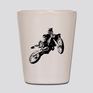 motor cross Shot Glass