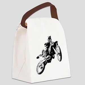 motor cross Canvas Lunch Bag