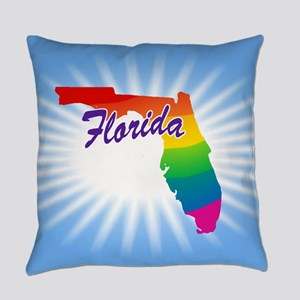 Rainbow State Everyday Pillow