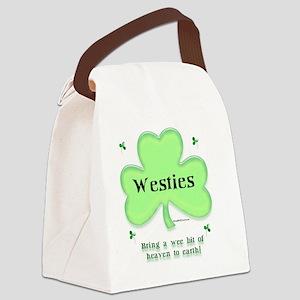 WestieHeaven Canvas Lunch Bag