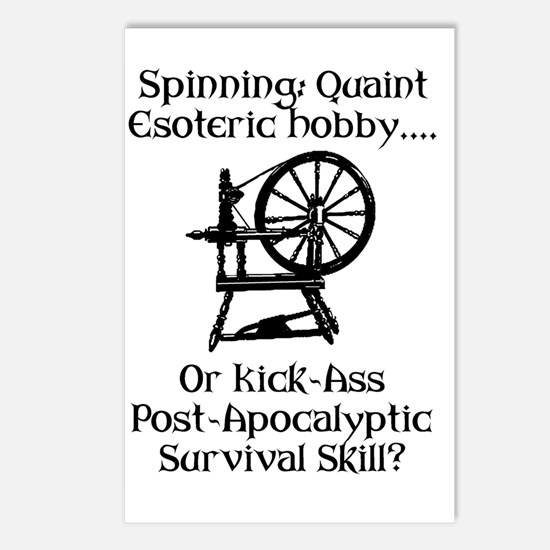 Spinning Wheel Survival Postcards (Package of 8)
