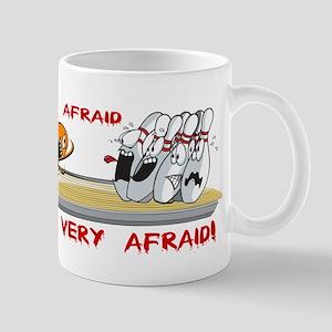 BE AFRAID Mugs
