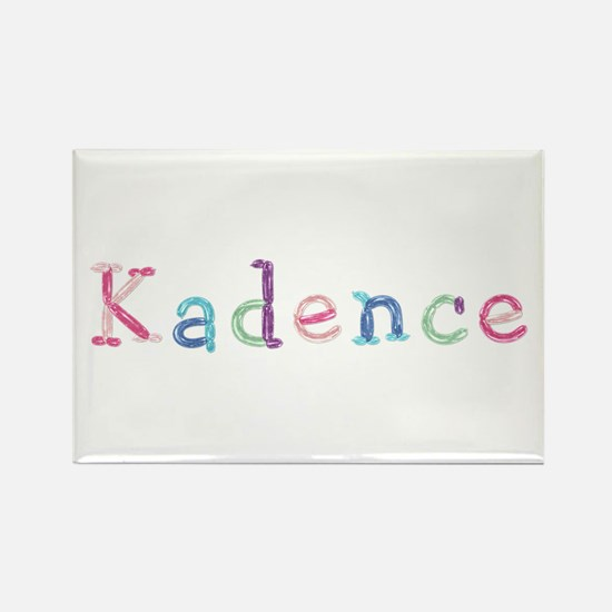 Kadence Princess Balloons Rectangle Magnet