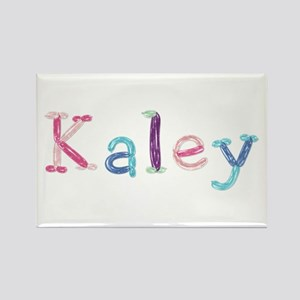Kaley Princess Balloons Rectangle Magnet