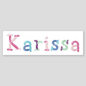 Karissa Princess Balloons Bumper Sticker