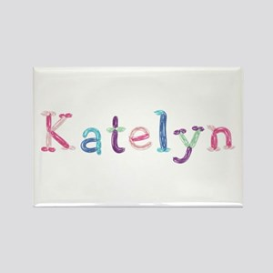 Katelyn Princess Balloons Rectangle Magnet