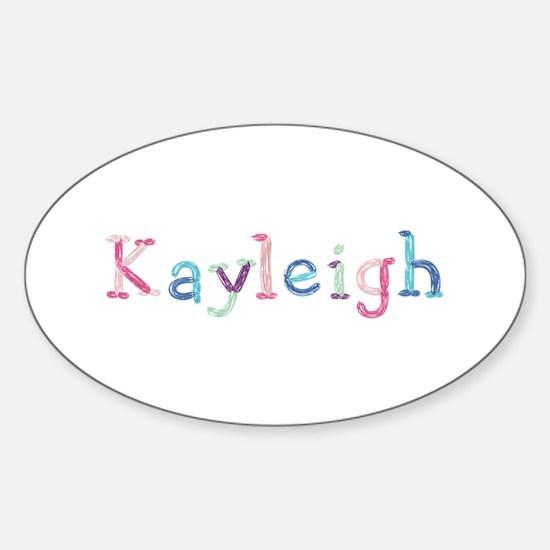 Kayleigh Princess Balloons Oval Decal