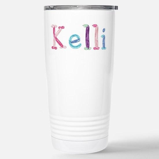 Kelli Princess Balloons Ceramic Travel Mug
