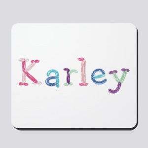 Karley Princess Balloons Mousepad