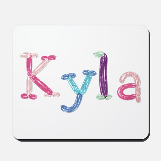 Kyla Princess Balloons Mousepad