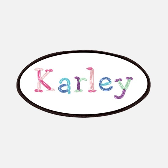 Karley Princess Balloons Patch