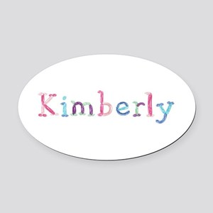 Kimberly Princess Balloons Oval Car Magnet