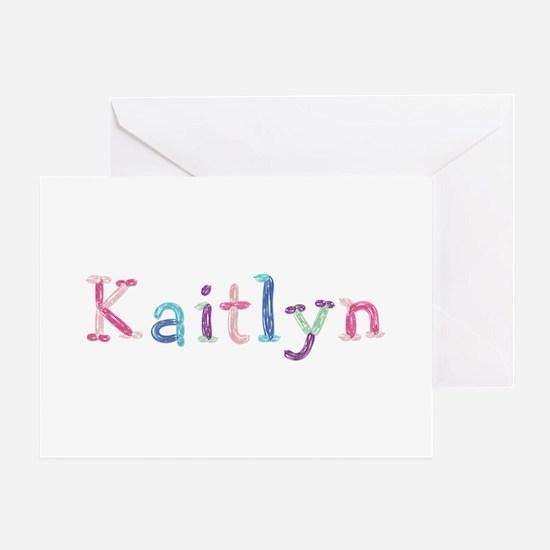 Kaitlyn Princess Balloons Greeting Card