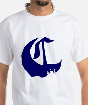 Crip Gang History Month White T-Shirt