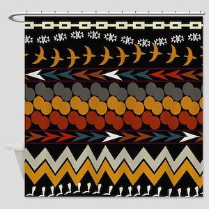 Ethnic 1 Shower Curtain