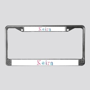 Keira Princess Balloons License Plate Frame