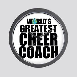 World's Greatest Cheer Coach Wall Clock